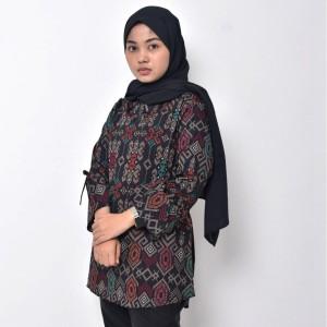 Harga blouse batik atasan batik wanita baju batik perempuan   3 | HARGALOKA.COM