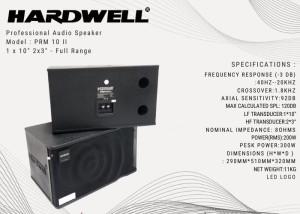 Harga speaker pasif hardwell 10 inc prm 10 ii original kualitas   HARGALOKA.COM