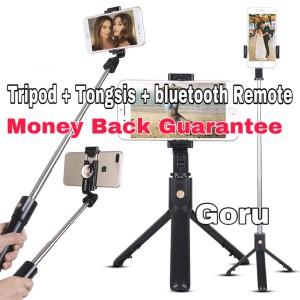 Harga tripod tongsis remote tongkat narsis iphone hp holder foto | HARGALOKA.COM
