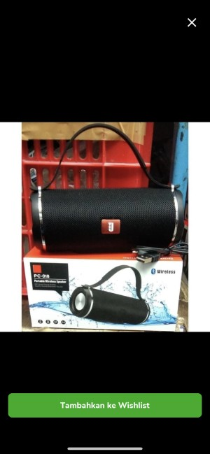 Harga speaker bluetooth portable wireless | HARGALOKA.COM