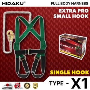 Harga full body harness hidaku type x1 single hook safety belt hidaku   HARGALOKA.COM