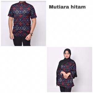 Harga waryulion baju batik couple pasangan ibu dan ayah mutiara | HARGALOKA.COM