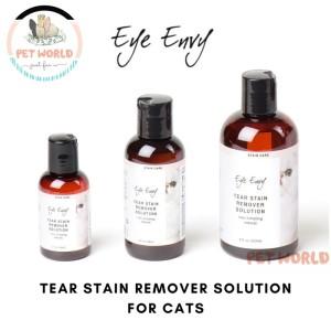 Harga eye envy tear stain remover solution   obat vitamin mata kucing cat | HARGALOKA.COM
