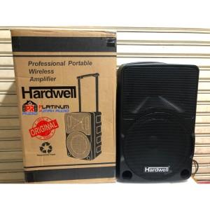 Harga speaker portable hardwell 10inch original bisa bluetoth usb max10c   HARGALOKA.COM
