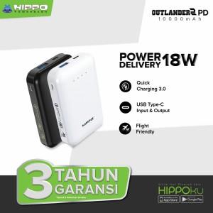 Harga hippo power bank outlander 2 10000 mah pd quick charge 3 0 fast | HARGALOKA.COM