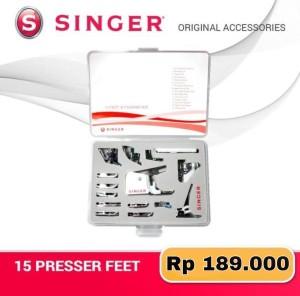 Harga singer 15 presser feet accessory | HARGALOKA.COM