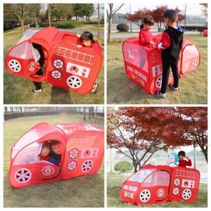 Harga tenda main anak rumah tenda anak kolam bola fire rescue outdoor | HARGALOKA.COM