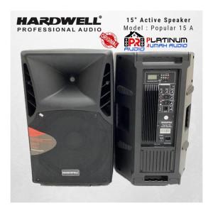 Harga speaker aktif hardwell popular 15a original 15 inch usb mp3 | HARGALOKA.COM