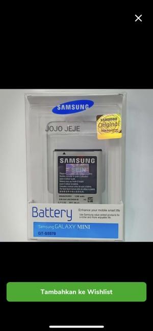 Harga battery baterai batre samsung galaxy s5570 star s5280 original 100 | HARGALOKA.COM