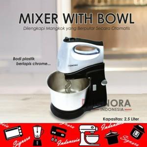 Harga mixer w bowl signora plus hadiah langsung   HARGALOKA.COM