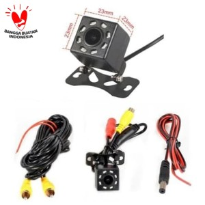 Info Rear Camera Kamera Parkir Atret Mundur Universal 4 Led Ccd Kualitas Hd Katalog.or.id