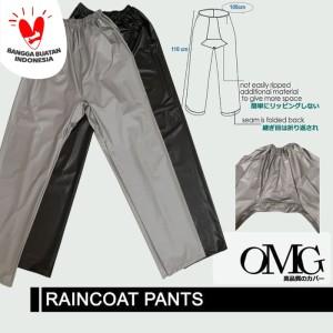 Harga Celana Jas Hujan Karet Omg Waterproof Raincoat Pants Anti Air Pvc Katalog.or.id