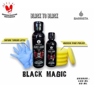 Harga black magic barrista   penghitam plastik body motor mobil   | HARGALOKA.COM