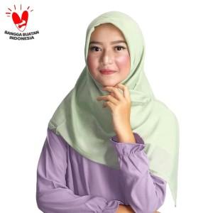 Harga zoya kerudung segi empat polos   maruna plain scarf warna | HARGALOKA.COM