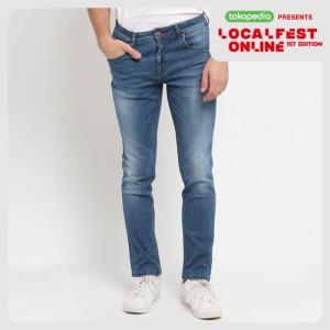 Harga papperdine jeans 211 bleach 39 selvedge 39 stretch celana pria panjang   | HARGALOKA.COM