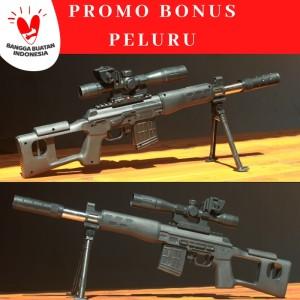 Harga sniper svs mainan tembakan kokang dcobra | HARGALOKA.COM