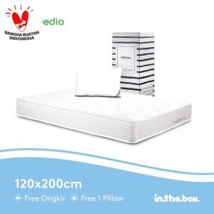 Harga spring bed inthebox ukuran 120x200 full | HARGALOKA.COM