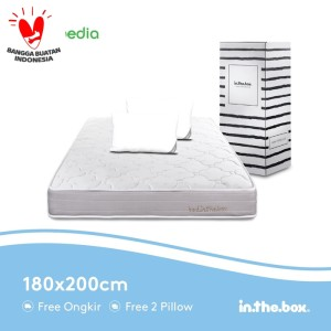 Harga spring bed inthebox ukuran 180x200 king | HARGALOKA.COM