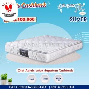 Harga comforta hanya kasur spring bed super fit silver | HARGALOKA.COM