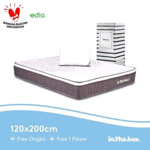 Harga kasur spring bed inthebox x ukuran 120 x 200 full free | HARGALOKA.COM