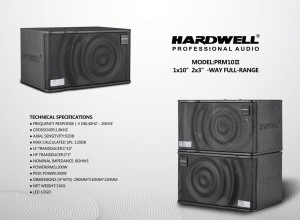 Harga speaker karaoke pasif hardwell prm 10 ii original 10 inch full range | HARGALOKA.COM