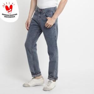 Harga 311 celana panjang jeans pria selvedge straight fit snow blue   | HARGALOKA.COM