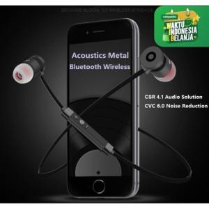Harga csr4 1 audio solution headset bluetooth acoustics metal | HARGALOKA.COM