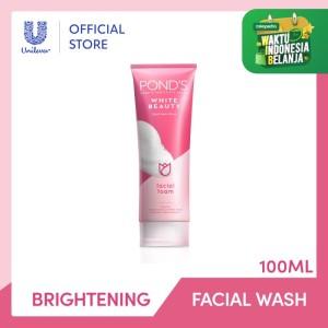 Harga ponds white beauty facial foam sabun muka pembersih wajah gentle | HARGALOKA.COM