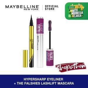 Harga maybelline the falsies lash lift waterproof mascara | HARGALOKA.COM