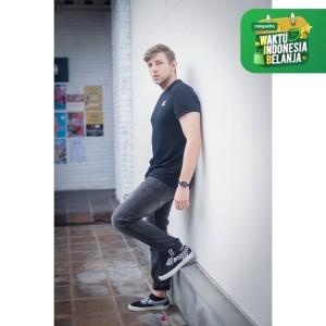 Harga papperdine 711 dark grey slim fit celana panjang jeans pria selvedge   | HARGALOKA.COM