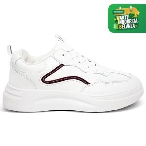 Harga homyped lsp 1902 sepatu sneakers wanita marun   | HARGALOKA.COM