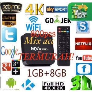 Harga android tv box mxq pro 4k smart tv box garansi media | HARGALOKA.COM