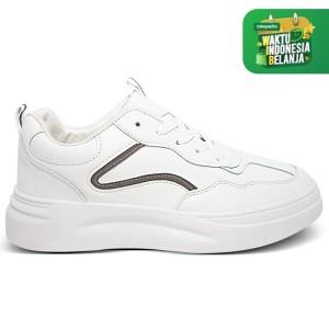 Harga homyped lsp 1902 sepatu sneakers wanita abu   | HARGALOKA.COM