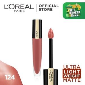 Harga l 39 oreal paris liquid matte lipstick rouge signature make up   | HARGALOKA.COM