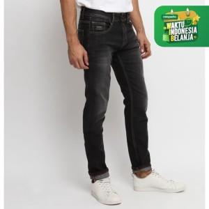 Harga papperdine jeans 211 black grey slim fit 11 5 oz 39 selvedge 39 stretch   | HARGALOKA.COM