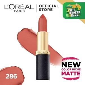 Harga l 39 oreal lipstik matte color riche matte   evening | HARGALOKA.COM