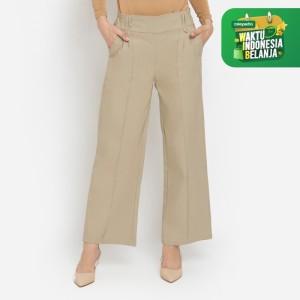 Harga celana bawahan wanita le najwa loritz kulot otomen soft jeans   | HARGALOKA.COM