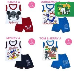 Harga katalog baju setelan bayi singlet kombinasi newborn shirton   HARGALOKA.COM