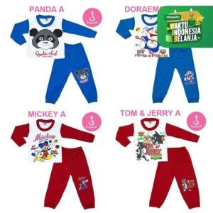 Harga katalog baju setelan bayi lengan panjang kombinasi shirton   HARGALOKA.COM