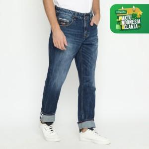 Harga papperdine 886 fw20 d indigo celana panjang jeans pria denim selvedge   | HARGALOKA.COM