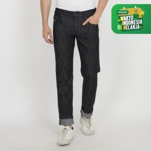 Harga papperdine jeans 007 slim fit black 39 selvedge 39   | HARGALOKA.COM
