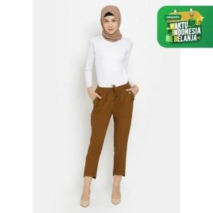 Harga celana bawahan wanita le najwa laudza baggy k 2 otomen soft jeans   | HARGALOKA.COM