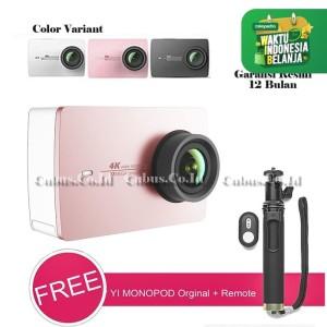 Harga xiaomi yi 2 4k travel edition internasional action camera gransi resmi   merah | HARGALOKA.COM