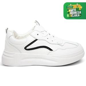 Harga homyped lsp 1902 sepatu sneakers wanita hitam   | HARGALOKA.COM