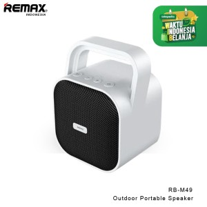 Harga remax outdoor portable speaker rb m49   | HARGALOKA.COM