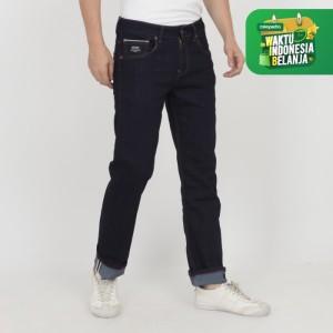 Harga papperdine jeans 212 raw selvedge stretch celana pria panjang   | HARGALOKA.COM