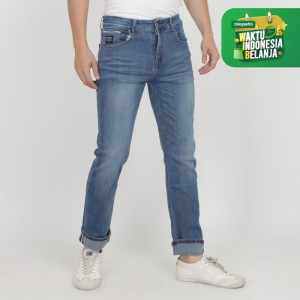 Harga papperdine jeans 212 bleach selvedge stretch celana pria panjang   | HARGALOKA.COM