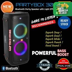 Harga jbl partybox 300 party box 300 bluetooth speaker premium high | HARGALOKA.COM