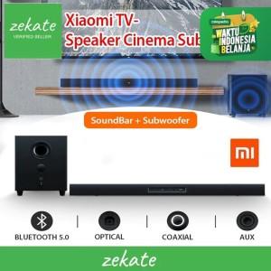 Harga xiaomi soundbar tv 2 1 with subwoofer 100w sound   HARGALOKA.COM