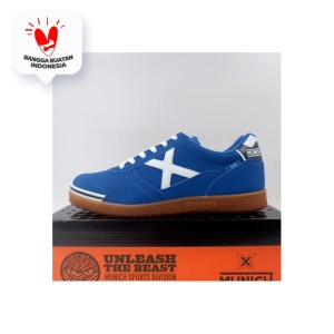 Harga sepatu futsal munich g 3 profit 11 white celeste 3111011 original | HARGALOKA.COM